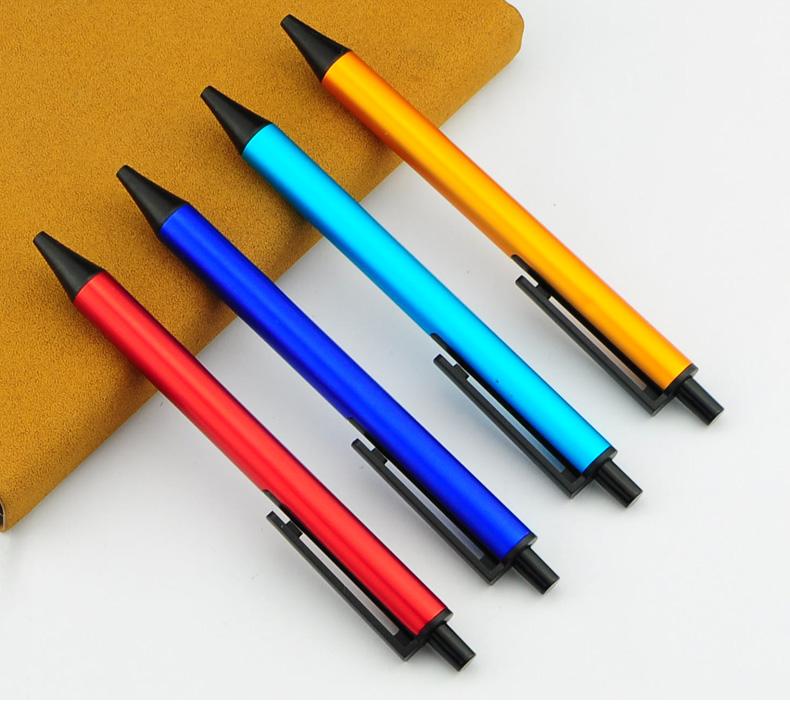商务金属签字笔   定制LOGO铝杆触控中性笔广告礼品笔可激光按动笔T802A